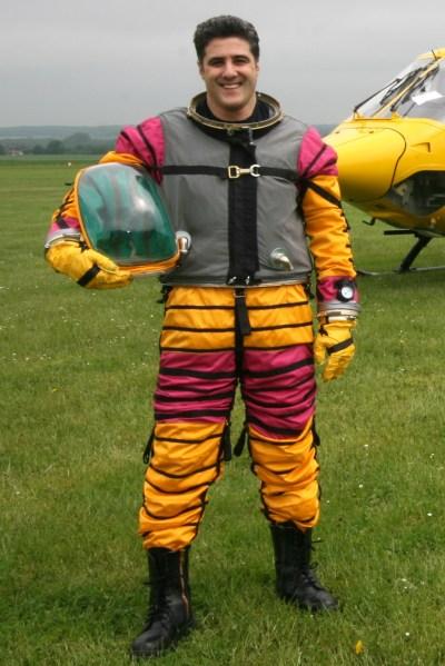 Steve Truglia New Spacesuit 4 June 08