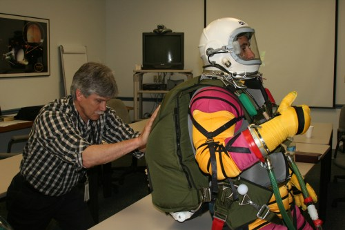 Suit and Parachute Fitting USA 1