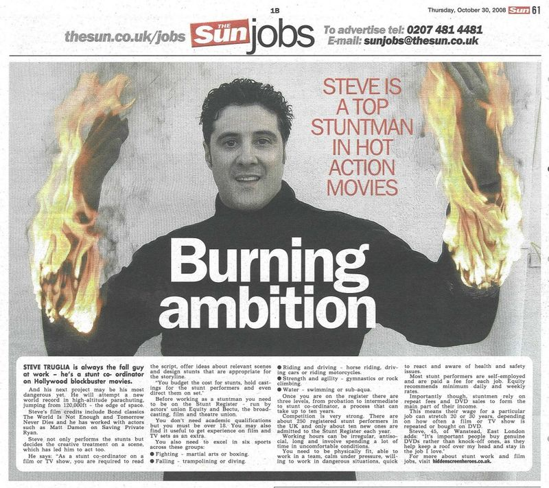 Steve Truglia The Sun 301008